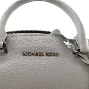 Michael Kors Bags - Michael Kors Shoulder Bag Mk Logo Leather Satchel